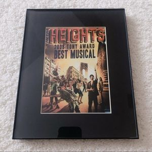 In The Heights Poster in Frame